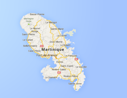 Martinique Quelle: Google Maps