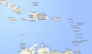 Die kleinen Antillen - Übersicht Quelle: Google Maps